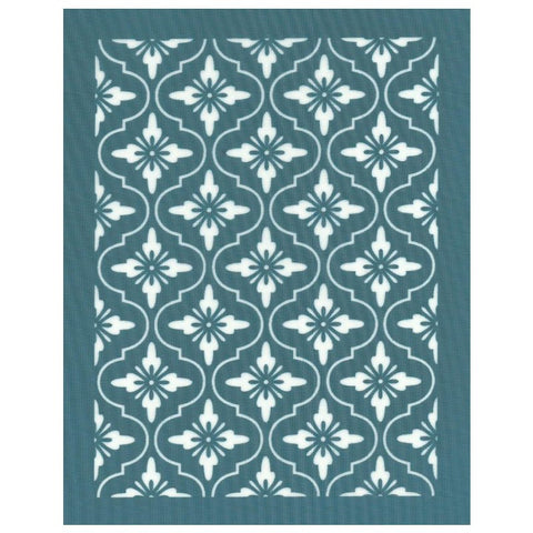Floral Lattice Pattern, DIY Designer Silk Screen Print Stencil
