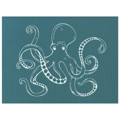 DIY Designer Silkscreen Printing Stencil, Ocean Animals Sea Life Octopus