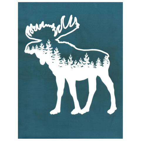 Forest Moose Design DIY Silkscreen Stencil