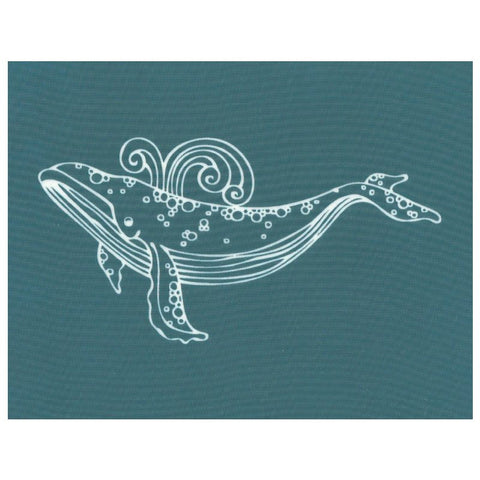 DIY Designer Silk Screen Stencil, Ocean Animal Sea Life Whale