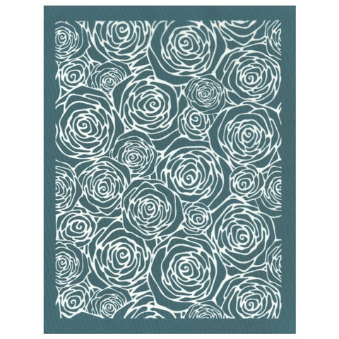 DIY Screen Printing Ceramic Silk Screen Stencil Roses