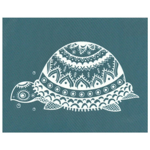 DIY Screen Printing At Home Silk Screen Stencil Turtle Sea Life