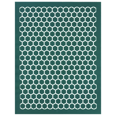 DIY Silk Screen Printing Stencil, Honeycomb Pattern Bee Design