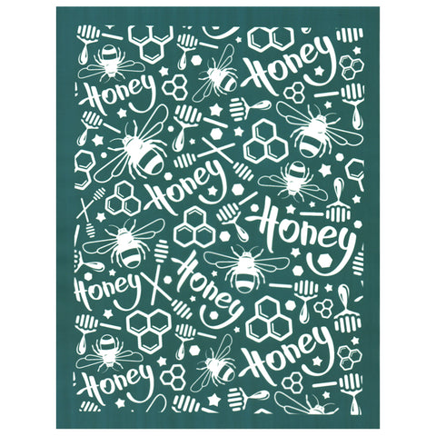 Honey Bee Pattern Designer DIY Silk Screen Stencil