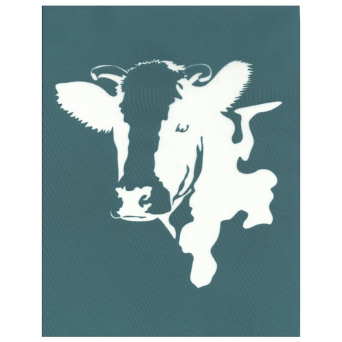 DIY Screen Printing Farmhouse Cow Silk Screen Stencil