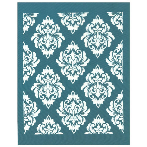 Damask Vintage Wallpaper Design Silk Screen Print Stencil