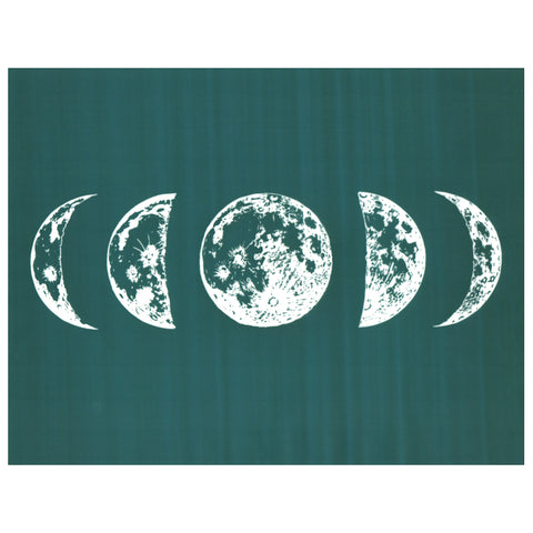 Cosmic Moon Phases Crescent DIY Silk Screen Printing Design Stencil