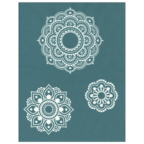 Ready To Use DIY Silk Screen Printing Stencil Mandala Designs