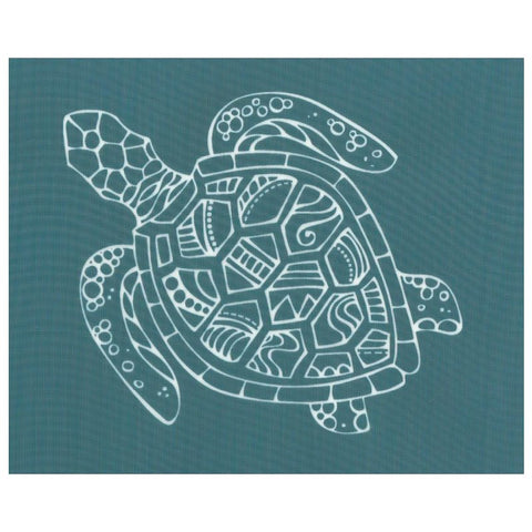 Ready To Use DIY Silk Screen Printing Stencil Ocean Animal Sea Life Turtle