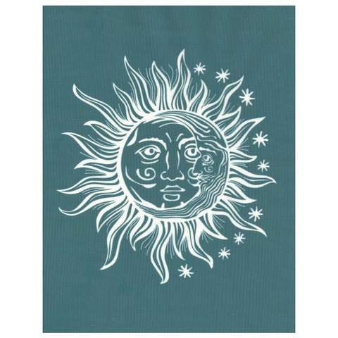 DIY Screen Printing Ready To Use Stencil Sun Moon Yin Yang