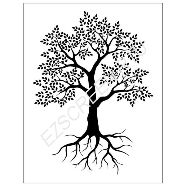 Diy Silk Screen Printing Stencil Ready To Use Tree With