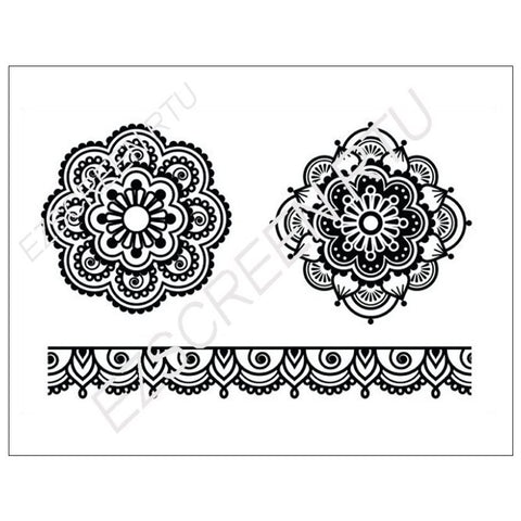 Mandalas & Mehndi Lace, Various Sizes