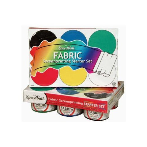 Speedball Screen Printing Fabric Ink Set