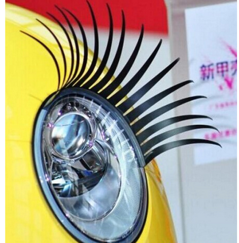 Decorative Headlight Eyelashes