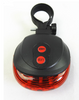 Image of Bicycle 5 LED Plus 2 Laser Tail Safety Light