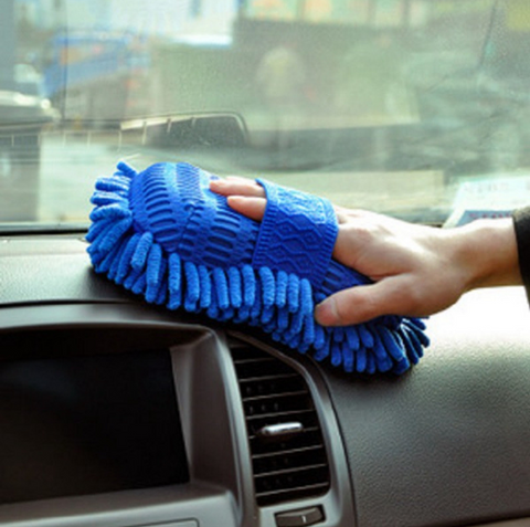 Ultrafiber Car Wash Brush Shammy