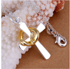 Image of Heart Cross Pendant Necklace