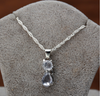 Image of Crystal Cat Necklace