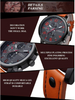 Image of 2016 CURREN Casual Men's Leather Sports Quartz Watch