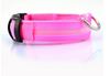 Image of Nylon Dog Cat LED Collar Light Night Safety Flashing Glow in the Dark Collar