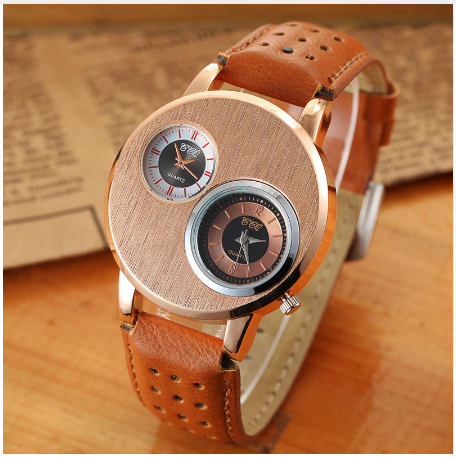 Men's Dual Display Quartz Dress Watch