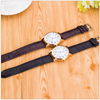 Image of Men's Geneva Rome Dial Quality Quartz Watch Leather Band Black Brown