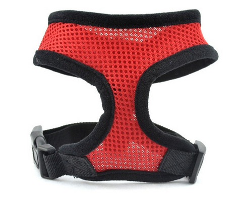 Mesh Dog Harness Lead Leash