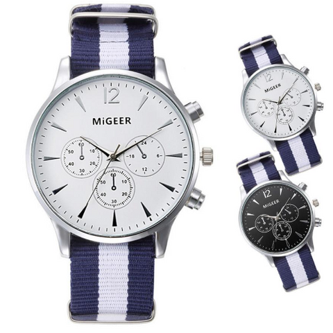 MiGEER Relogio Luxury Brand Quartz Sports Watch