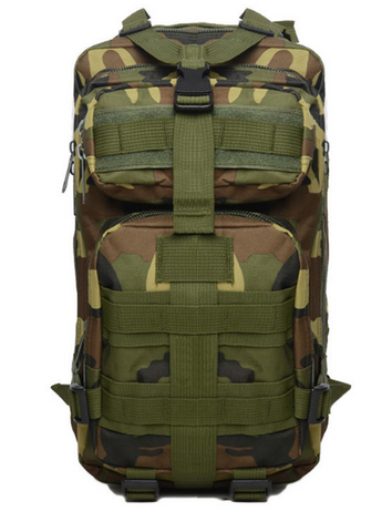 Military Outdoor Tactical Large Capacity Camouflage Backpack