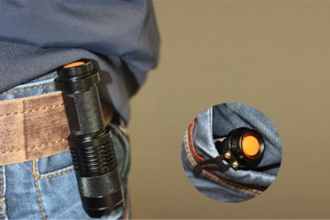 Mini Tactical Zoomable Waterproof Flashlight