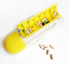 Image of 2 in 1 Portable Water Bottle with Pill Organizer