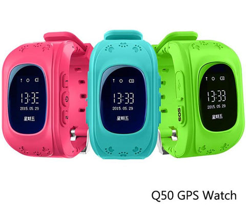 Kid Safe Smart Watch with GSM GPS Locator iOS Android