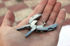 Image of Multi-Function Foldaway Keychain Pliers Knife Screwdriver Portable Survival Tool