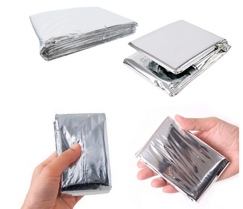 Portable Waterproof Emergency Thermal Mylar Blanket