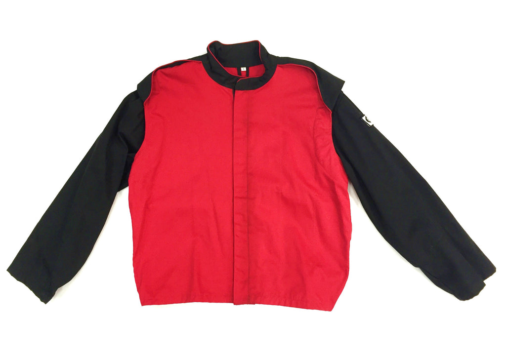 Fire Suit - 1 Layer Jacket Only Size (1) Small SFI-1 Red & Black Peak Racing Equipment