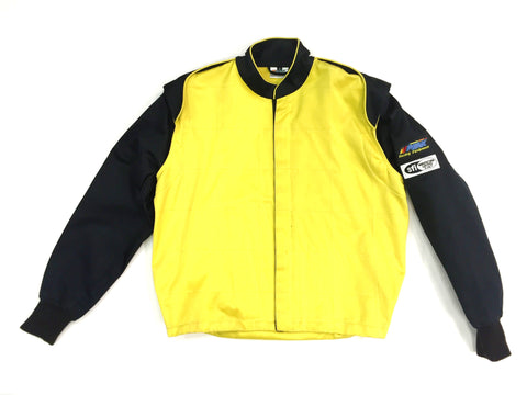 Fire Suit - 1 Layer Jacket Only Size (1) Small SFI-1 Yellow & Black Peak Racing Equipment
