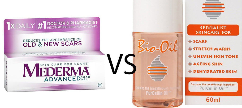 Mederma Vs Bio Oil For Scars Stretch Marks Full Review