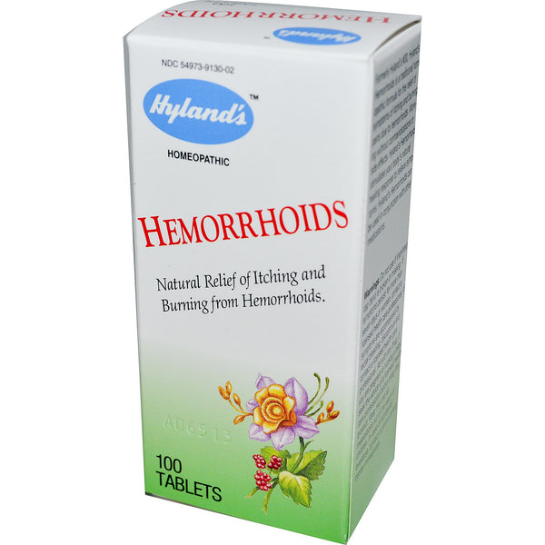 Hyland's Hemorrhoids Tablets Review - Does Hyland's Really Work?
