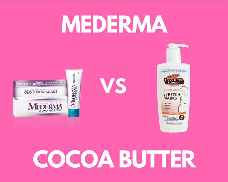 Mederma Vs Cocoa Butter For Stretch Marks Discover Who The