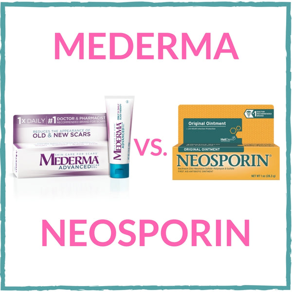 Mederma vs Neosporin Reviews - Discover The Best Pick For Scars and Wound Healing!