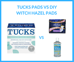 separation shoes 6bcdf 006f3 Tucks Pads vs Witch Hazel Pads Reviews for Hemorrhoids - Is the DIY Hemorrhoid  Pad Better