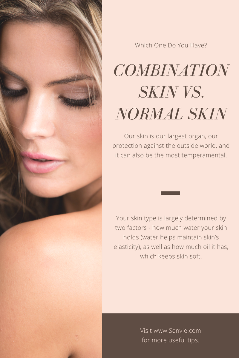 combination skin or dry skin