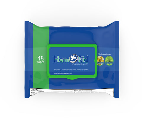 HemRid Hemorrhoid Wipe