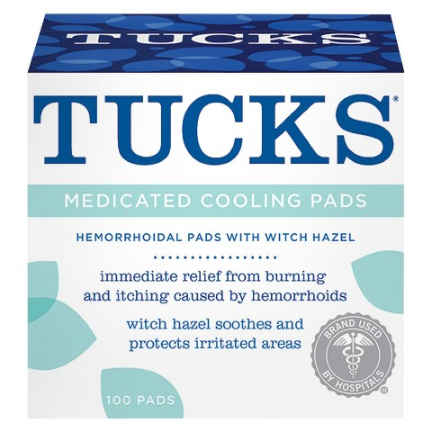 tucks medicated pads
