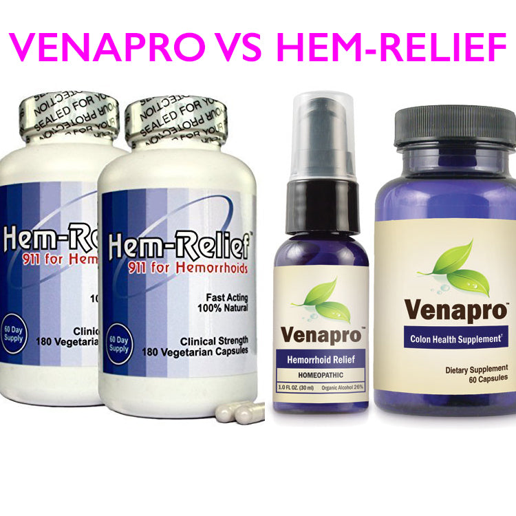 Venapro Vs Hem Relief Discover If Venapro Is Better Than Hem Relief