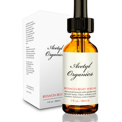 acetyl organics redness redux