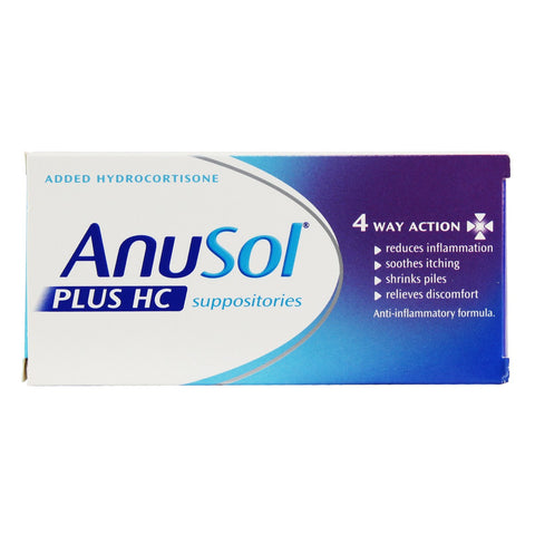 anusol hc suppository