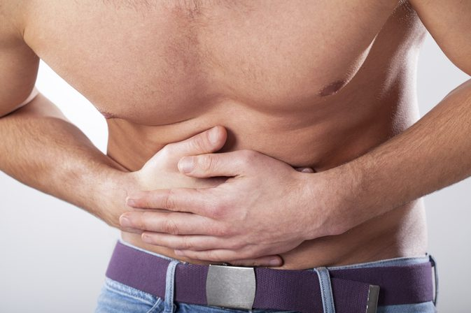 lower abdominal pain hemorrhoids