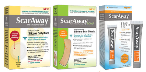 scar away reviews silicone sheets
