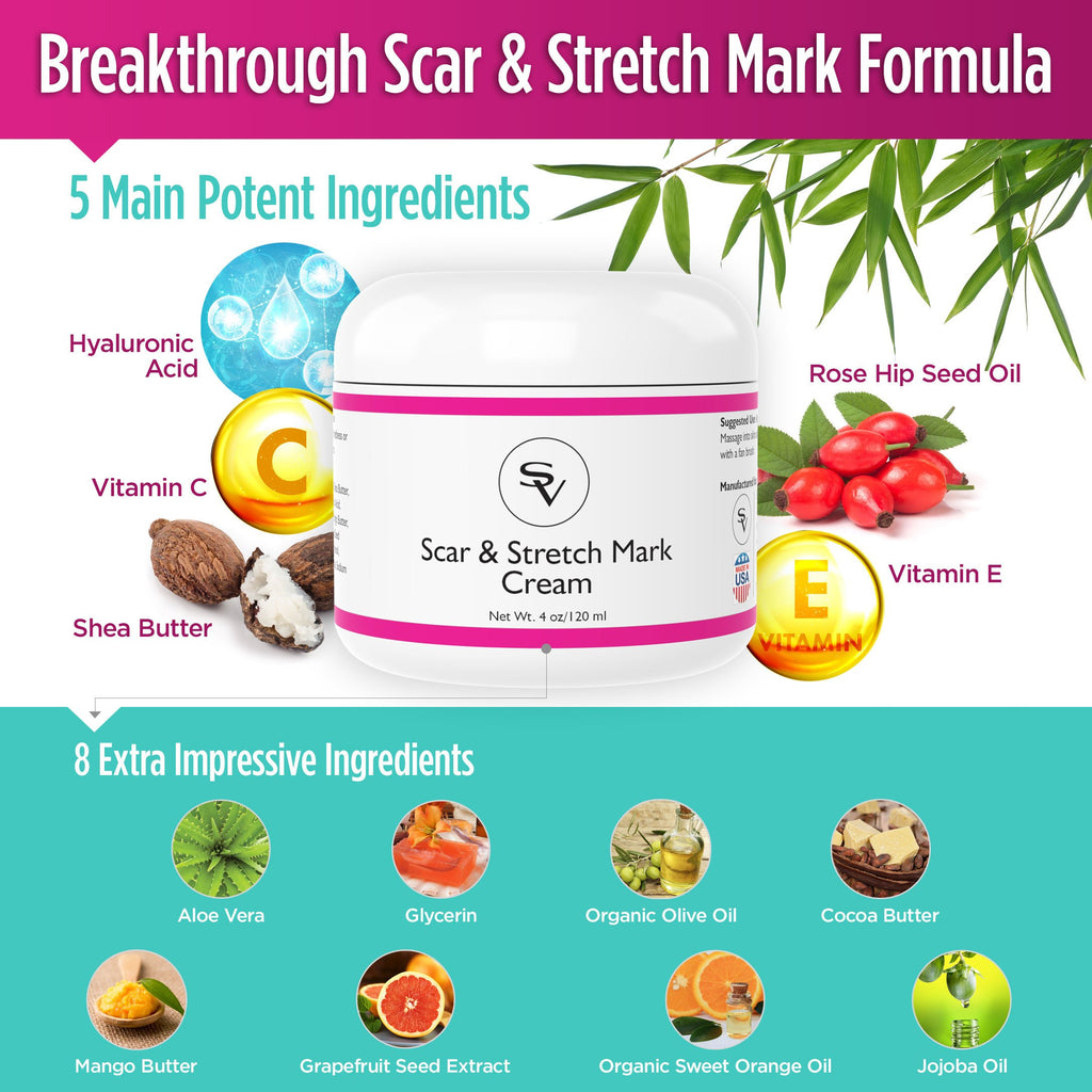Powerful Scar & Stretch Marks Cream